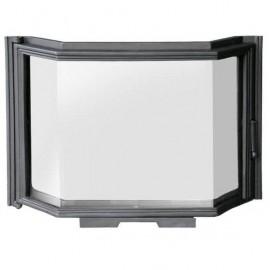 Дверца каминная со стеклом FPL4 - H0324