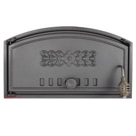 Дверца топочная/печная глухая левая DCH1 - H1001
