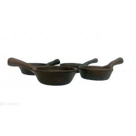 Кокотница керамическая для запекания закусок с соусами и жульена