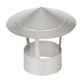 Зонт на дымоход 1Z AISI321 0,5мм