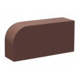 Кирпич КС-Керамик Темный шоколад R-60 гладкий