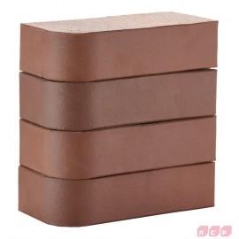Кирпич лицевой коричневый 1НФ R60 250х120х65мм