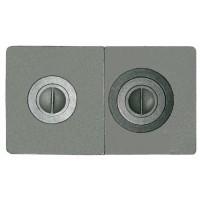 Плита печная цельная с двумя отверстиями для конфорок П2-3