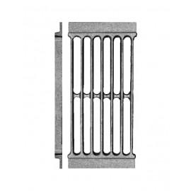 Решетка колосниковая РД-7 каминная для дров и торфа 290х135х17мм