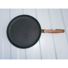 Сковорода блинница с деревянной ручкой 260х25мм