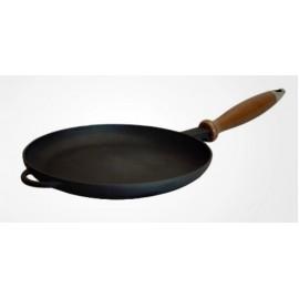 Сковорода блинница с деревянной ручкой 200х20мм