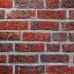 Кирпич ручной формовки Wasserstrich buntgeflammt, NF, огненно-пестрый, печной, Röben, Печной кирпич облицовочный купить в Краснодаре