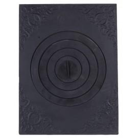 Плита печная под казан с рисунком ПК04 705x530мм