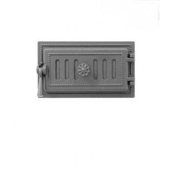 Дверца поддувальная В236А, антрацит, Везувий, Печное литье купить в Краснодаре