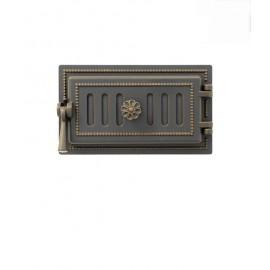 Дверка поддувальная 236 бронза 140x275мм