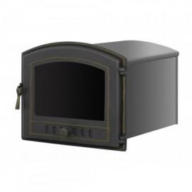Духовой шкаф 224 бронза со стеклом 345х435х475мм