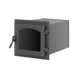 Духовой шкаф 260 антрацит со стеклом 220x260х400мм