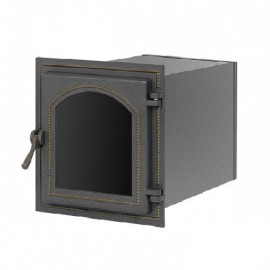 Духовой шкаф 270 бронза со стеклом 293x262х400мм